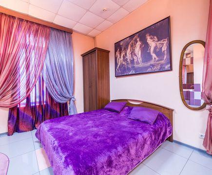 спальная зона в номере