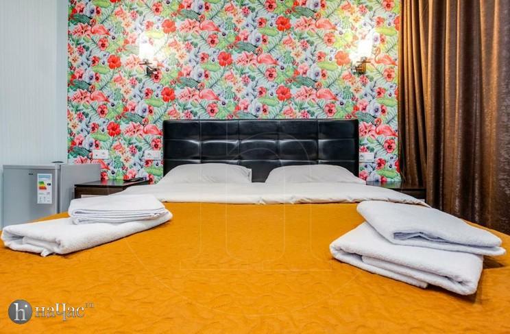 люкс с джакузи кровать