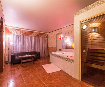 сауна в номере отеля