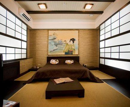 японский стиль в номере
