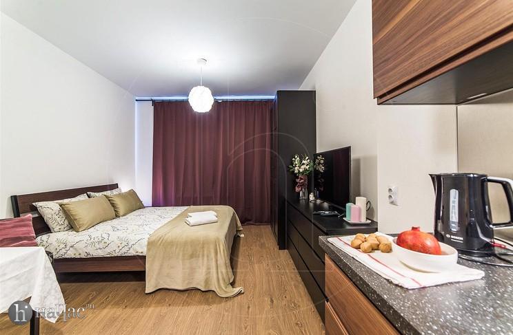 кухонная и спальная зоны