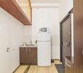 комната 1 кухонная и прихожая зоны