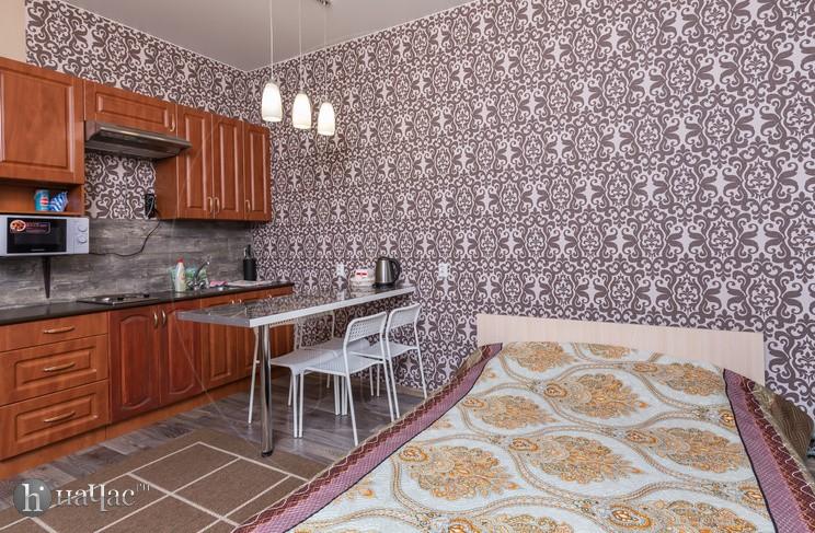 Спальное место и кухня