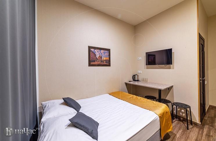 Трехместный номер двуспальная кровать