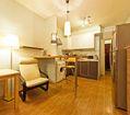 гостиная и кухонная зоны
