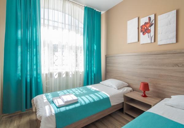 Цветовая гамма гостиницы